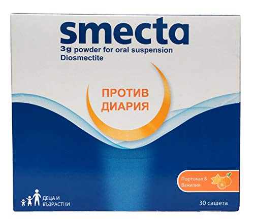 SMECTA 30 sachets. A new step in treating diarrhoea -powder for oral suspension by SMECTA