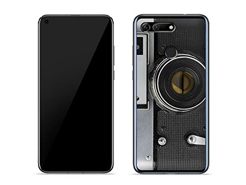 etuo Hülle für Huawei Honor View 20 - Hülle Fantastic Hülle - Retro Aparat - Hülle Schutzhülle Etui Hülle Cover Tasche für Handy