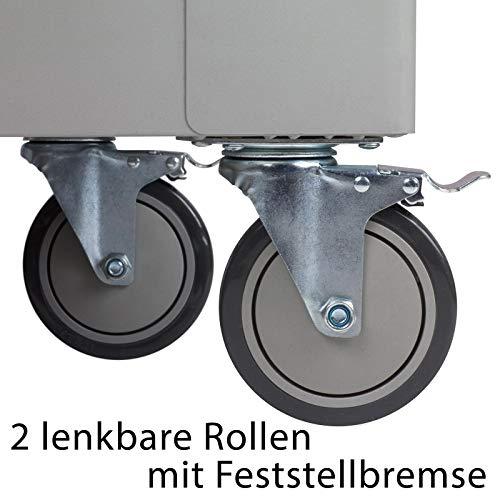 hanSe® Werkstattwagen gefüllt 245-teilig Werkzeug Werkstatt - 9
