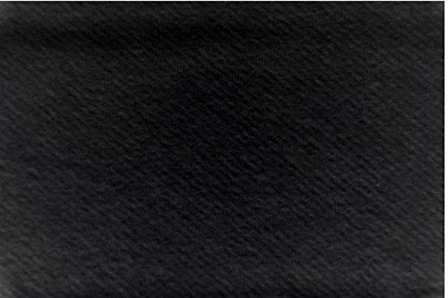 Stoff-ConneXion Deko-Molton 3 m breit schwarz, GP 12,80 €/m, 160 g/m² Meterware