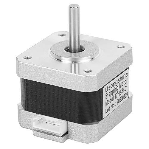 Ruspela NEMA 17 Stepper Motor 3D Printer Accessories with 4 Pin Cable 17HS3401