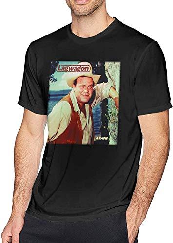Lagwagon Hoss Men's Soft Ultra Cotton Adult Short Sleeve Shirt Black