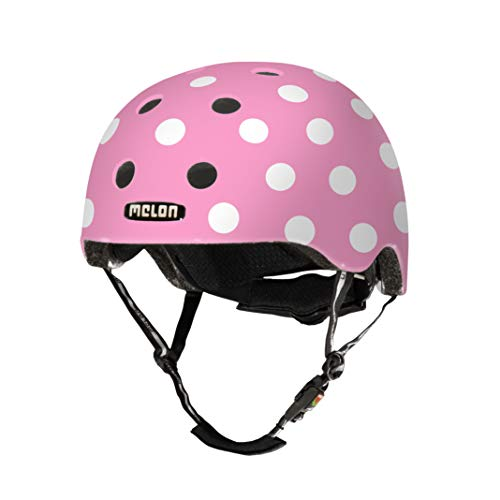 Melon Unisex– Erwachsene Urban Active Story Fahrradhelm, Pink, One Size