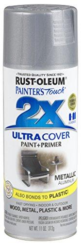 Rust-Oleum 249128-6 PK Painter's Touch 2X Ultra Cover, 6 Pack, Metallic Aluminum