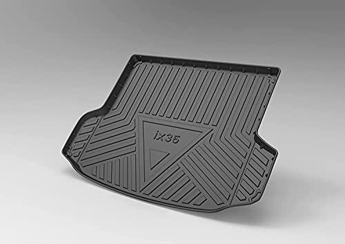 Coche Alfombrillas para maletero para Hyundai ix35 2010-2017, Alfombrillas Goma Maletero Anti Sucio Interior Alfombra Accesorios