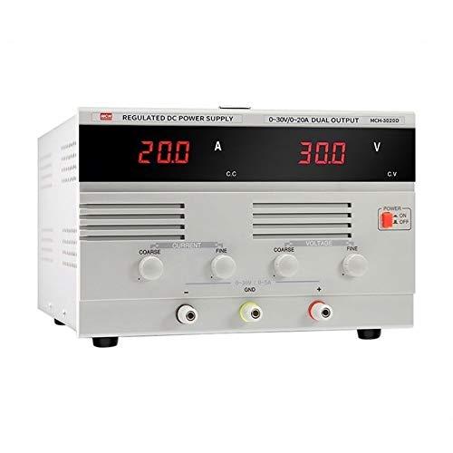 Précis Bloc d'alimentation en courant alternatif MCH-3020D 30V 20A DC Durable (Size : 110V)
