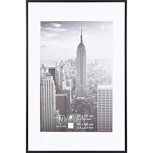 Henzo Manhattan Bilderrahmen, Metall, schwarz, 40x60 cm