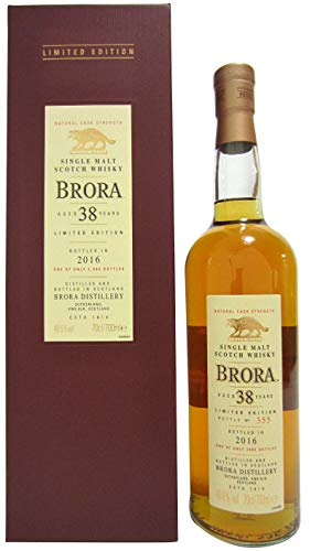 Brora (silent) - 2016 Special Release - 1977 38 year old Whisky
