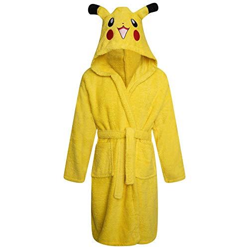 Bata de baño para niños y niñas, 100% algodón, con capucha, toalla de rizo suave, gorilla, tiburón, koala, unicornio y monstruo, edades de 3 a 13 años
