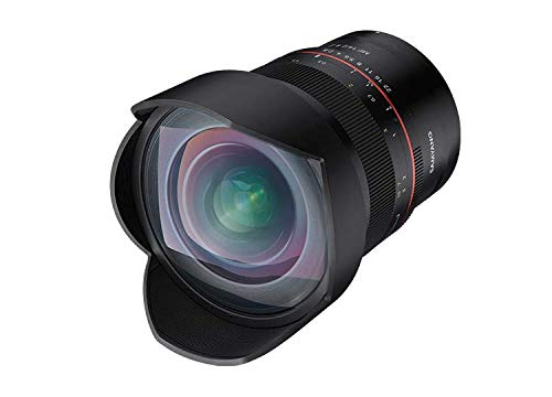 Samyang SA3701 - Objetivo MF para cámara Nikon Z (14 mm de distancia focal para cámaras Nikon, F 2.8) negro