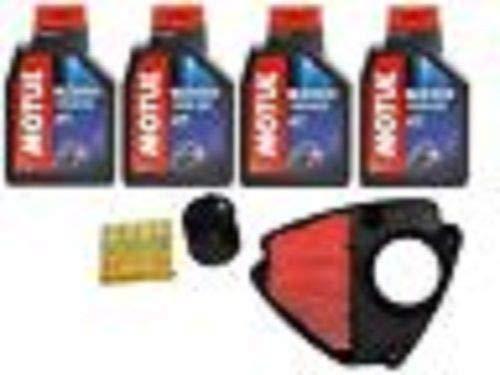 Kit révision Honda VT 600 Shadow huile Motul filtre à huile air 4 bougies 98 >