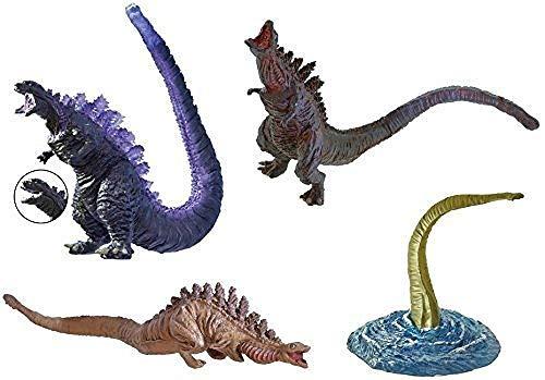 Bandai HG Series Shin Godzilla 2 all 4 Types Gashapon Figure
