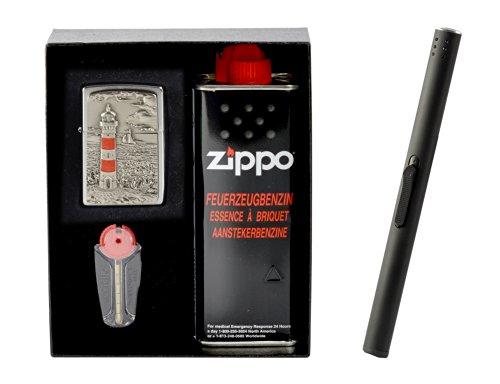 Zippo Lighthouse Set Regalo incluso Accendigas