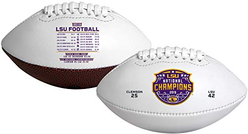Rawlings 2019-2020 Offizieller NCAA College National Championship Football, Jugendgröße, Champions - LSU