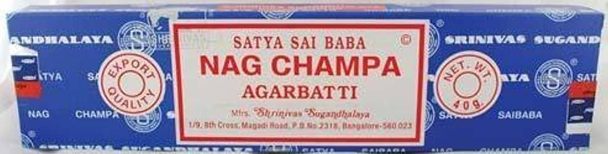 キュービック心臓インドNag Champa sticks 40gm * by Unknown [並行輸入品]