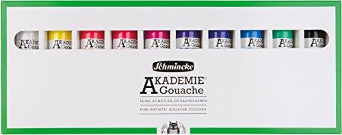 Schmincke Kartonset Gouache Akademie 10 x 60 ml 72 210 097