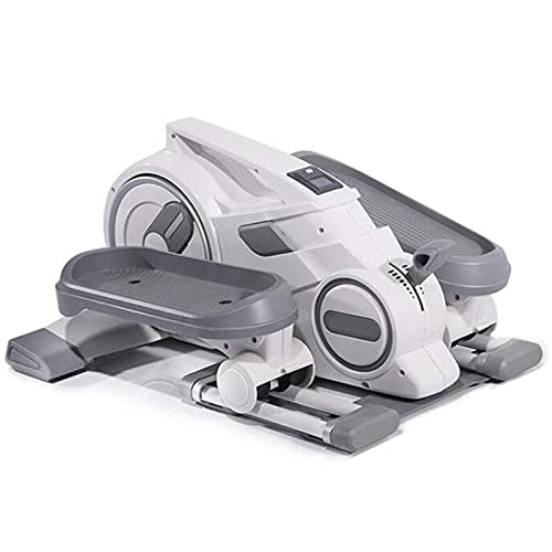 Lixiabeidai Multifunción Stepper Hombres y Mujeres Stepper Cardio Ejercicio, MachineFitnessEquipment Ideal Training Devicefor Seniors and Athletes,White