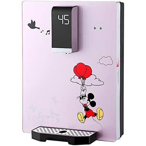 TXYJ Dispensador de Agua Caliente, Hervidor de Agua Caliente y Fría, 45℃, Luz LED por La Noche, Diseñado para Escuelas