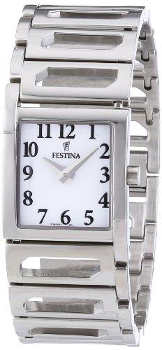 Festina Damen-Armbanduhr XS Trend Lady Analog Edelstahl F16551/1