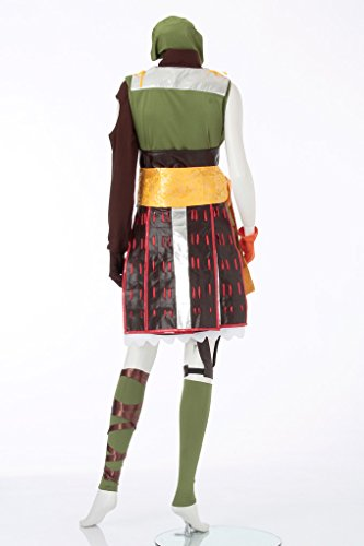 『戦国 basara バサラ まつ風 コスプレ衣装 レディース11号(5L)』の3枚目の画像