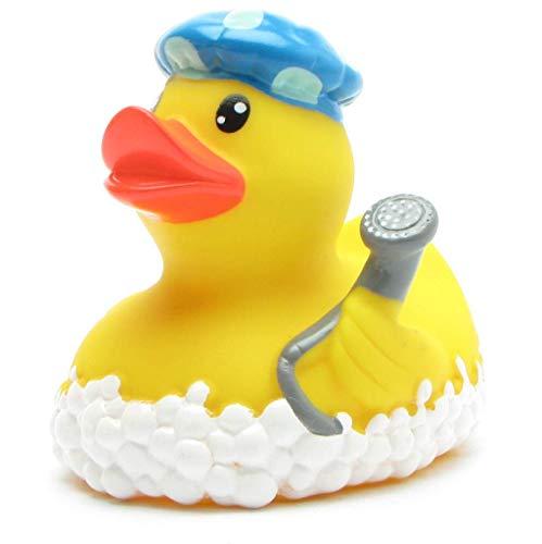Badeente Duck La Paloma Peace Kautschuk Quietscheente Quietscheentchen Geschenk