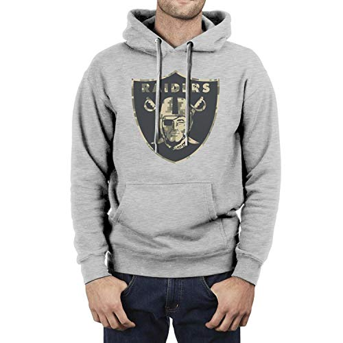 LunchBaggg Mens GuysCasual Sweaters Oakland-Raiders-Camouflage-camo-Logo- Classic Great Date