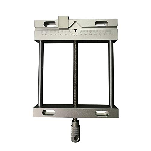 Aluminium Flat Tongs Vice 164mm CNC Machine bankschroef Fixture Flat Tongs Screw Precision Parallel kaak Vice Plain Vise