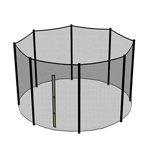 Greenbay Accessoires Trampoline Filet De Sécurité pour Trampoline Destiné au Remplacement pour Trampoline 305cm(10FT,8 Barres)