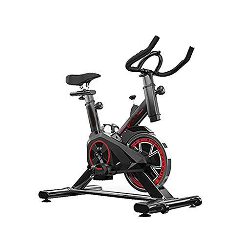 AINY Fahrrad-Heimtrainer-Aerobic-Training Fitnessaerobic Bike-Home Fitness-Geräte-LED-LCD-Display, 12KG Schwungmasse, Pulsgurt Kompatibel - Fitness Bike Trainer