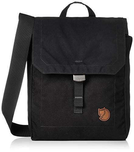 FJÄLLRÄVEN Unisex-Adult Foldsack No. 3 Luggage- Messenger Bag, Black, 30 cm