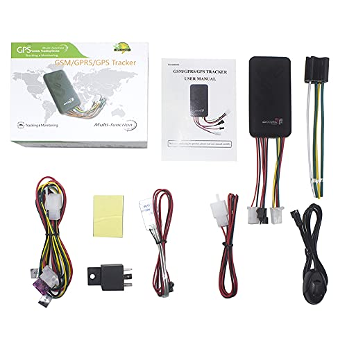ZALAGA Rastreador GPS GT06 Localizador de Coches LBS Monitor de Seguimiento de GPS de Alarma de Coche de Corte de EnergíA/Combustible con Control Remoto