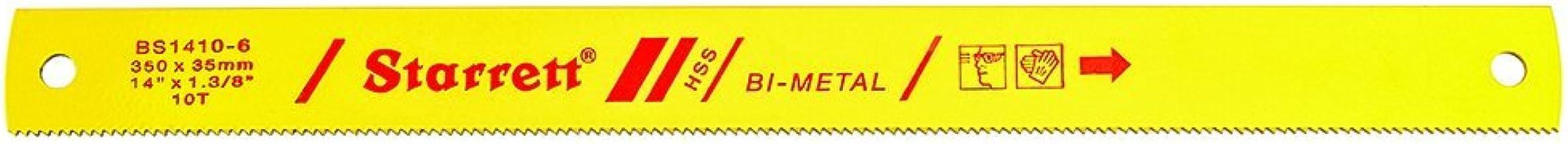 Starrett sierra maquina - Hoja bimetalico 350x35x1,6mm 10 diente