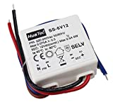 HuaTec Eaglerise Trasformatore LED 12V 6W Tensione Costante per Strisce LED Alimentatore Driver
