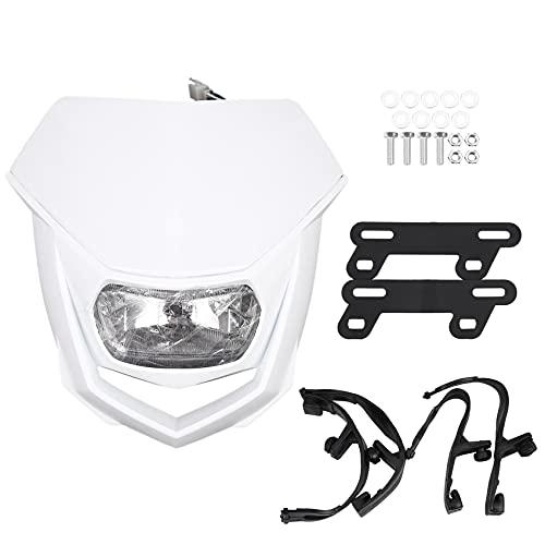 Kaxofang Universal Dual Sport Motorcycle Headlight Dirt Bike head light lamp Motocross for Xr Crf 150 230 250 450