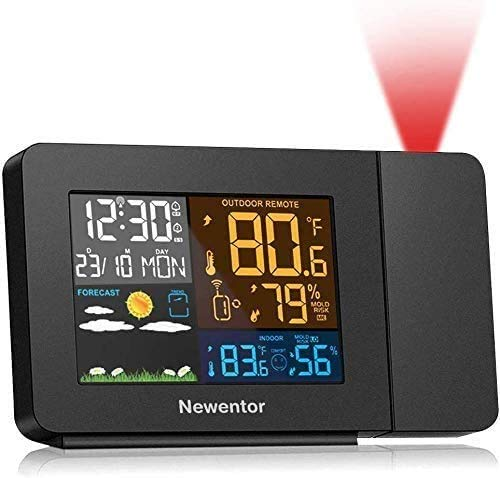 Best projection clocks with outdoor temperature