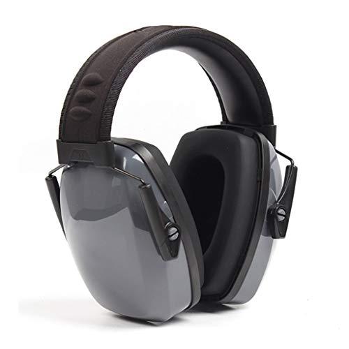 LBWT ruisonderdrukkende koptelefoon, op het hoofd gemonteerde geluiddichte oordopjes beschermende oordopjes ruisonderdrukking geluidsdichte slaapkoptelefoon