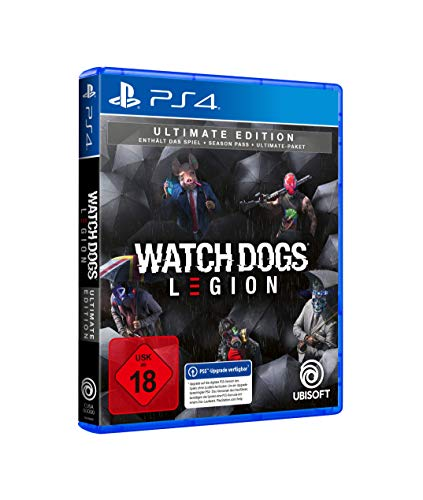 Watch Dogs Legion Ultimate Edition - [PlayStation 4]