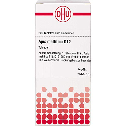 DHU Apis mellifica D12 Tabletten, 200 St. Tabletten