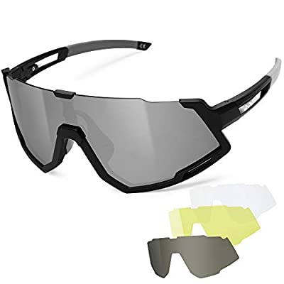 Polarized Cycling Glasses,UV400 Protection Spor...