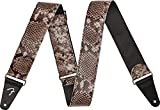 Fender Wild Faux Snakeskin Leather Strap, 2' Snake Skin