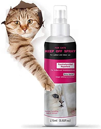 Cat Scratch Deterrent Training Spray, Cat Repellent Spray for Indoor and Outdoor Use - 175ml