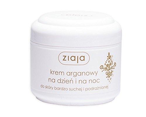 Creme Tag und Nacht für sehr trockene und gereizte Haut mit Bio-Arganöl 75ml von Ziaja
