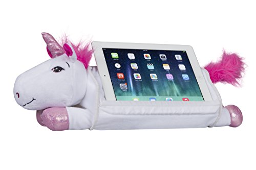 LapGear Lap Pets Tablet Pillow Tablet Stand - Unicorn (Fits up to 10.1  Tablet) - Style #36117