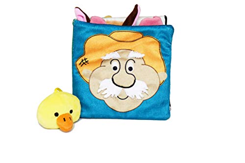 Wonderhood Old Mc'donald's Farm Baby Touch and Feel Soft Activity Book Cum Toy