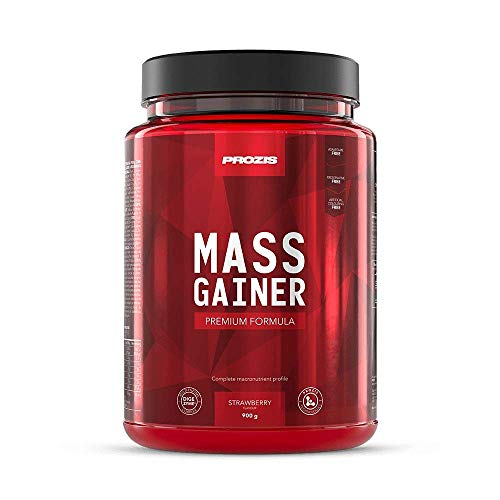 Prozis Mass Gainer 900 G Strawberry - 1130 g