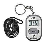 Atomic English Talking Watch! - Sets Itself 5 Senses Talking Pendant Plus Key Chain Interchangeable UK & USA User only -1281A