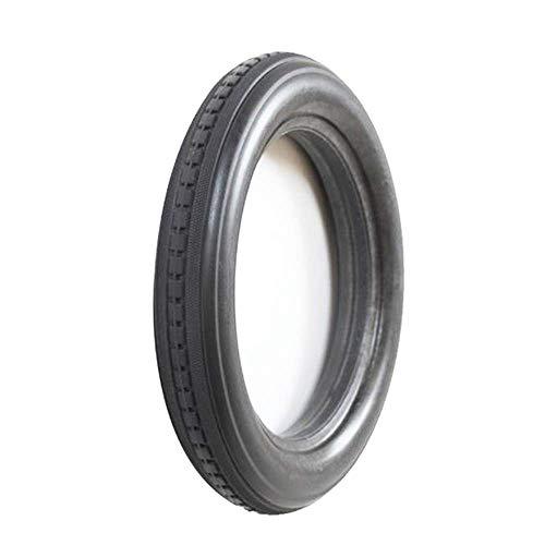 DIELUNY Neumáticos de bicicleta, 12 1/2x2 1/4 Sólido Run-Flat Neumáticos, Resistente al desgaste y a las perforaciones, 12 pulgadas Bicicletas Antideslizante Accesorios de Neumáticos