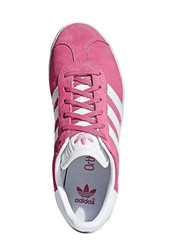 adidas Gazelle J, Chaussures de Fitness Mixte Enfant, Rose (Rosa 000), 37 1/3 EU