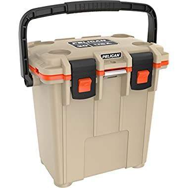Pelican 20Q-2-TANORG Elite 20 Quart Cooler (Tan/Orange)
