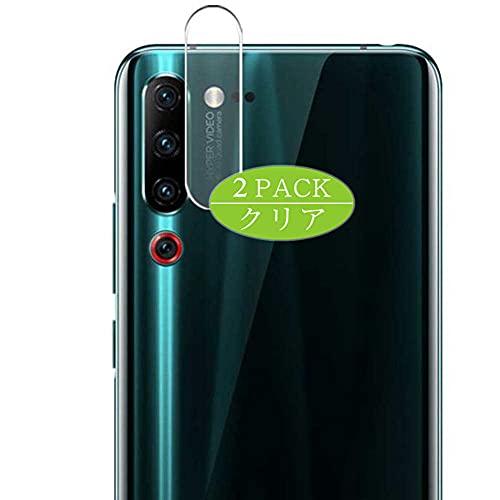 VacFun 2 Pezzi Protezione Lente, compatibile con Lenovo Z6 Pro, Pellicola Fotocamera (Non Vetro Temperato Protezioni Schermo Cover Custodia)